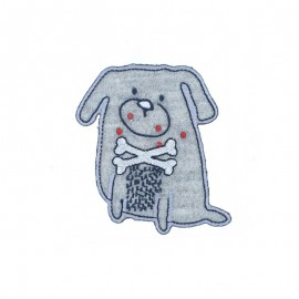 Thermocollant Chien Gris - B