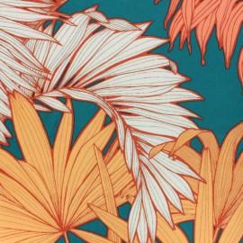 Tissu velours ras Coco - vert x 50cm