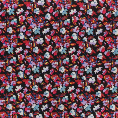 Liberty fabric - Sarah B - black x 10cm
