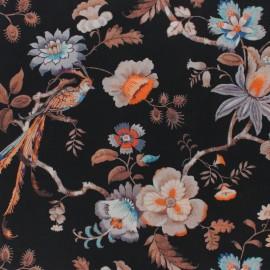 Liberty fabric - A Castle garden A - black x 10cm