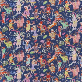 Liberty fabric - Dappers Dogs A x 10cm