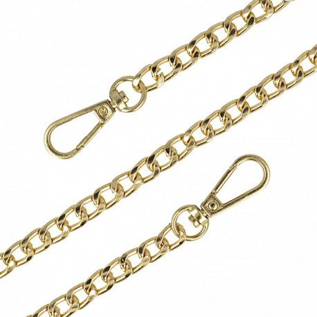 Bag-Handle Mesh Chain 8 mm - Gold