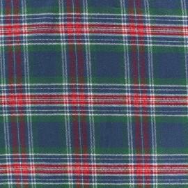 Tissu coton gratté Arthus - vert x 10cm