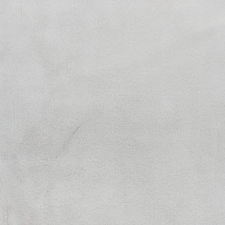 Minkee velvet fabric - indigo blue x 10cm