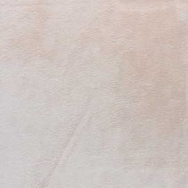 Minkee velvet fabric - Teddy bear brown x 10cm