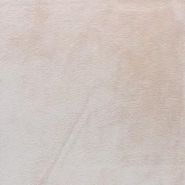 Tissu Velours minkee doux ras - ourson x 10cm