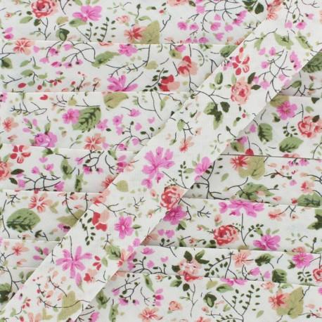 20 mm Cotton Bias Binding - Off White Nymphea x 1m