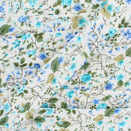 20 mm Cotton Bias Binding - Cream Nymphea x 1m