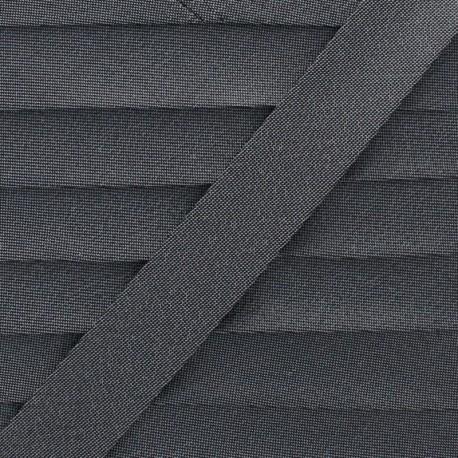 Soir de Fête Bias Binding - Grey x 1m