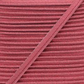 Passepoil Lamé Soir de Fête - Rouge x 1m