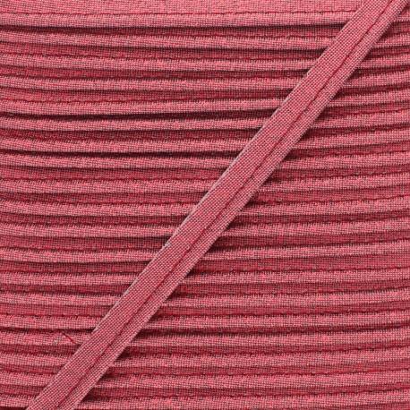 Soir de Fête Lamé Piping - Red x 1m