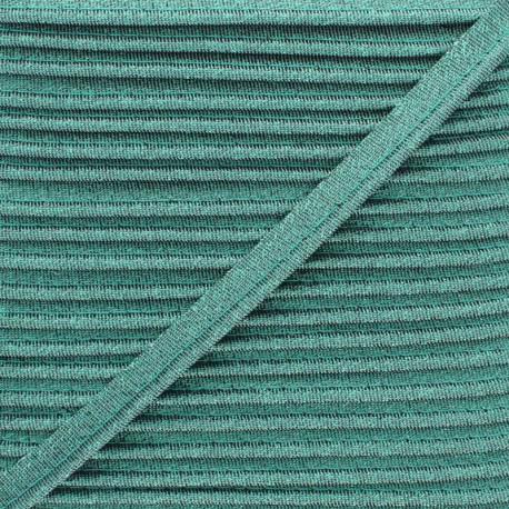 Soir de Fête Lamé Piping - Green x 1m