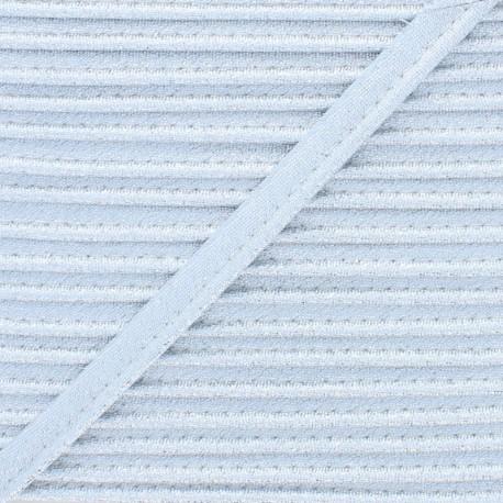 Soir de Fête Lamé Piping - Silver x 1m