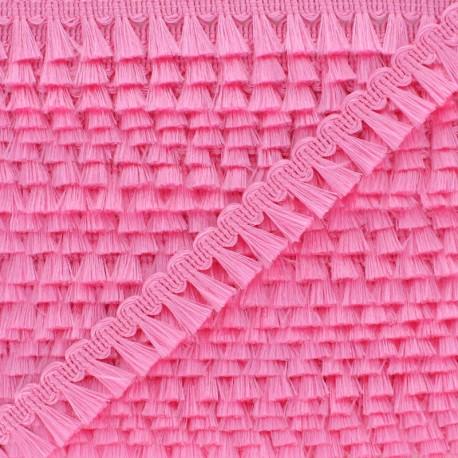 Pompom Trimming Ribbon - Fuschia Finette x 1m