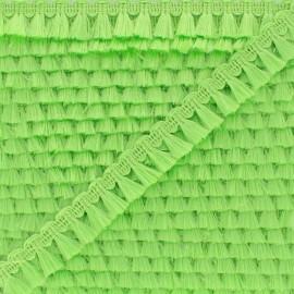 Galon Mini Pompon Finette - Vert Pomme x 1m