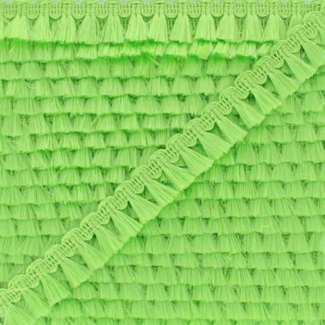 Pompom Trimming Ribbon - Apple Green Finette x 1m