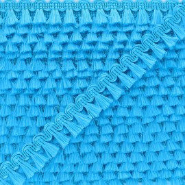 Galon Mini Pompon Finette - Bleu x 1m