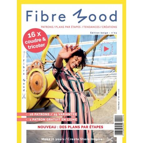Magazine Fibre Mood - Édition Belge n°03