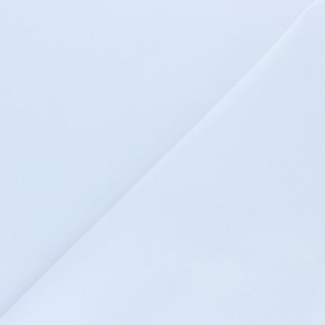Tissu coton uni Edward grande largeur (180 cm) - blanc x 10cm
