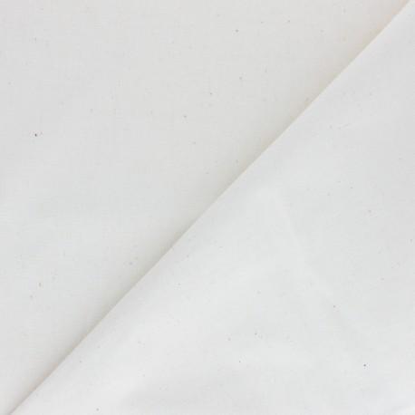 Tissu coton uni Edward grande largeur (180 cm) - naturel x 10cm
