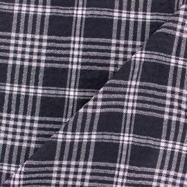 ♥ Coupon 300 cm X 140 cm ♥ Embossed Viscose fabric - Pink Alexander