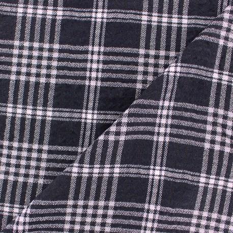 Viscose fabric - light brown Udawalawe x 10cm