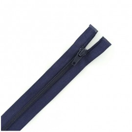 Thin Separating nylon zipper 5 mm - navy