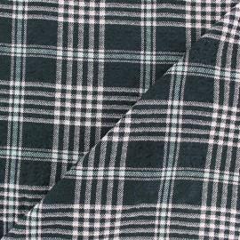 Tissu Viscose gaufré Alexander - blanc x 10cm
