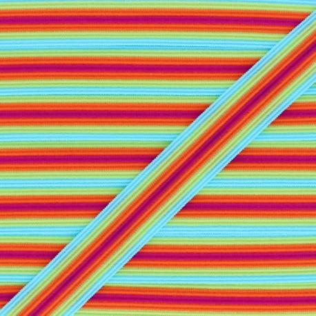 Biais Elastique Lingerie Arlequin 15 mm - Berlingot x 1m