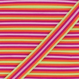 Biais Elastique Lingerie Arlequin 15 mm - Agrume x 1m