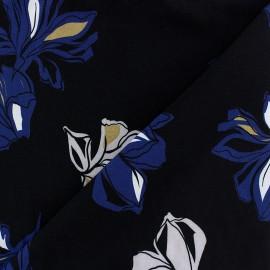 Tissu Viscose Zita - noir x 10cm