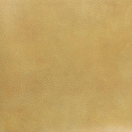 Imitation leather - Ochre Montana x 10 cm