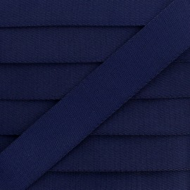Sangle Polyester - Bleu Marine x 1m