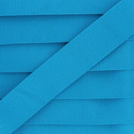 Sangle Polyester - Bleu Céleste x 1m