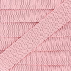 Plain Polyester Strap - Pink x 1m