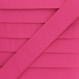 Sangle Polyester - Fuchsia x 1m