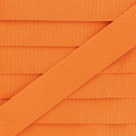 Sangle Polyester - Orange x 1m