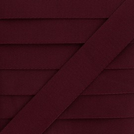 Sangle Polyester - Bordeaux x 1m