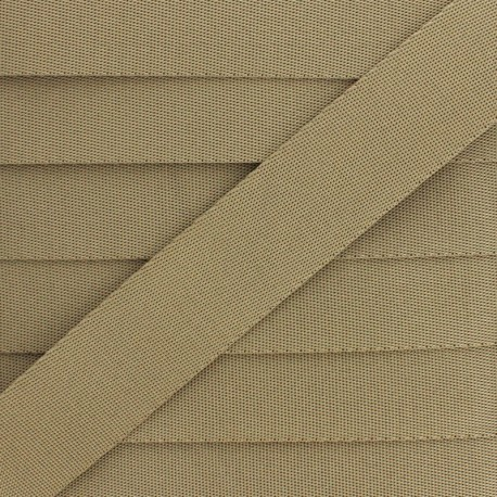 Sangle Polyester - Taupe x 1m