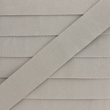 Sangle Polyester - Gris Argile x 1m
