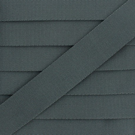 Sangle Polyester - Gris Acier x 1m