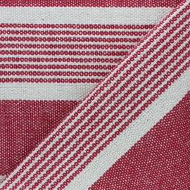Tissu coton tissé Gran Canarias - rouge x 10cm