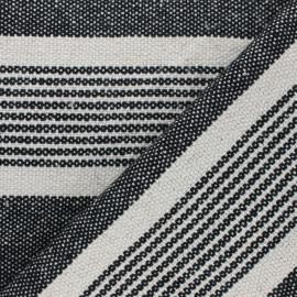 Canva cotton Fabric - black Gran Canarias x 10 cm