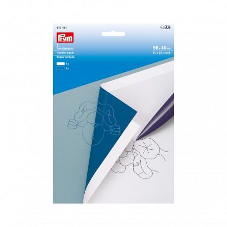 Prym Transfer Paper - White/Blue