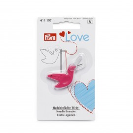 Prym Love Needle Threader - Pink Birdy
