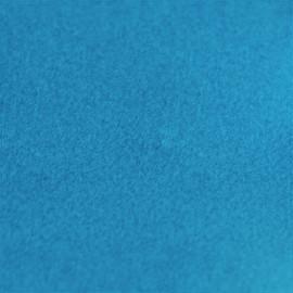 Flex thermocollant velours - Bleu turquoise x 10 cm
