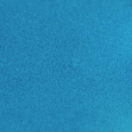 Velvet Fusible fabric - turquoise blue x 10 cm