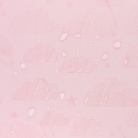 Tissu Softshell hydrosensible Nuage - rose Nude x 10cm