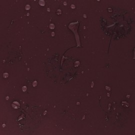 Tissu Softshell hydrosensible Dandelion - Bordeaux x 10cm