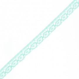 Ruban Dentelle Amélie 15 mm - Menthe x 1m